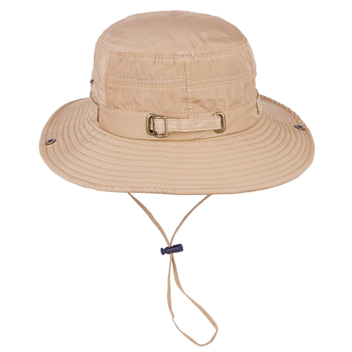 Sportmusies Wide Brim Boonie Hat Summer Bucket Caps for Camping Fishing Hiking Outdoor Travel Sun UV Protection Unisex