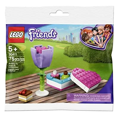 LEGO Friends Flower and Chocolate Box Build 30411 (75 Pcs): Toys & Games