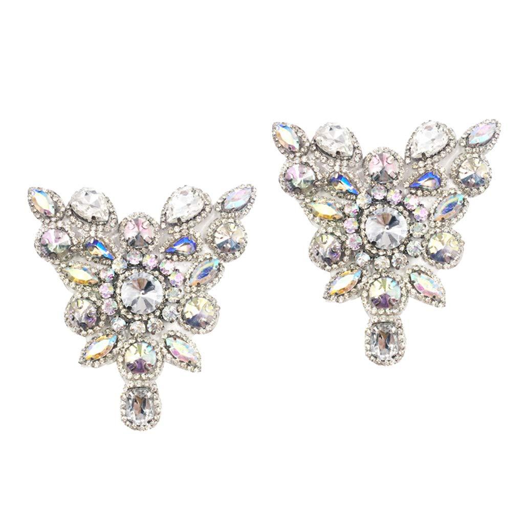 Rhinestone Crystal Butterfly Shoe Buckle Shoe Clip Wedding Shoe Decoration