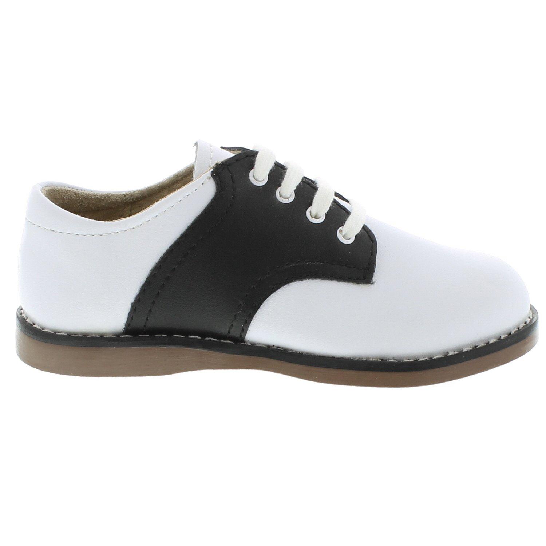 FootMates Unisex Cheer 3 (Infant/Toddler/Little Kid) White/Black Oxford 7.5 Toddler M/W by FOOTMATES (Image #2)