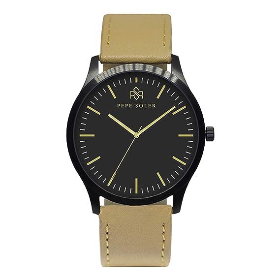Relojes Elegantes Hombre PEPE SOLER - Modelo GOLDSAND