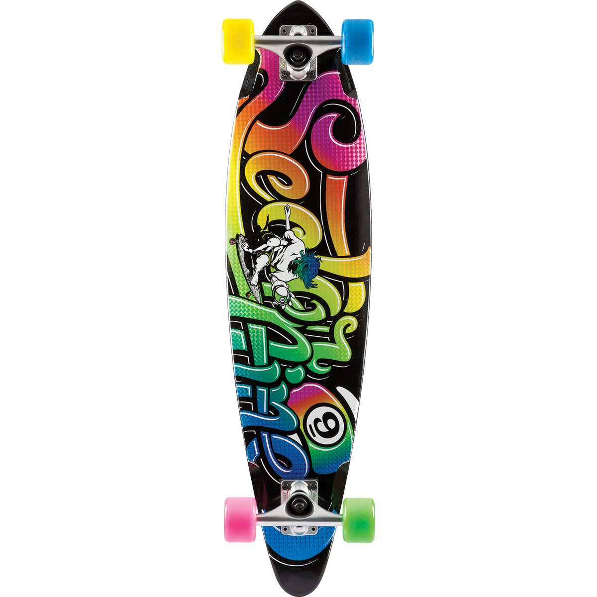 Sector 9 The Swift Complete Skateboard, Black