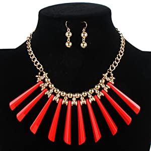 Winter.Z Exotic Hand knitting Multi-storey Clavicle chain Explosion models exaggeration fashion retro false collar necklace