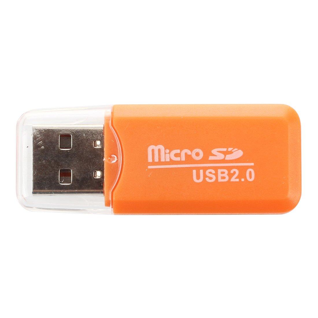 SODIAL(R) USB 2.0 Guidare schede memoria ad alta velocita' mini SD TF Reader Lettore TOOGOO(R) 037307