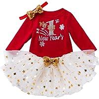 BBSMLIN Disfraces De Navidad Bebes Niña My First