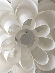 White Flower Ceiling Fan Light Kit Flower Light Fixture