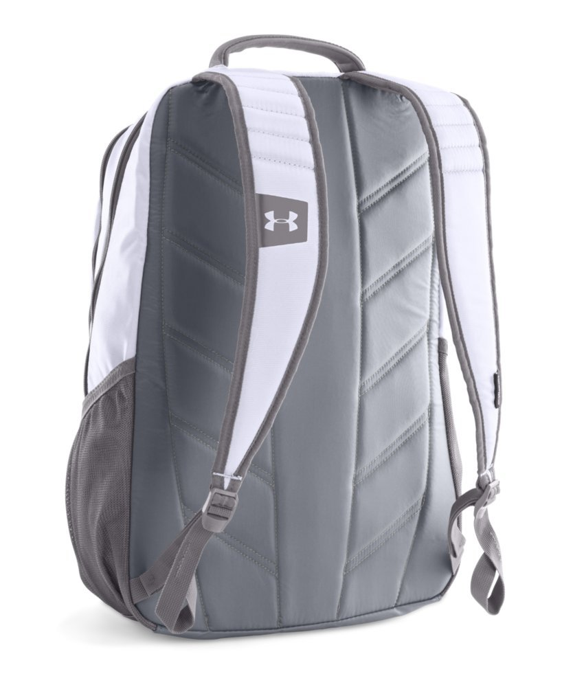Galleon Under Armour Storm Hustle Ii Backpack White