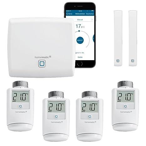 Homematic IP FUNK Heizungssteuerung zur Einzelraumregelung mit Smartphone App