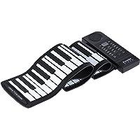 ammoon Tragbare Silikon 61 Schlüssel rollen oben Klavier Elektronische MIDI-Tastatur mit integriertem lauter Lautsprecher
