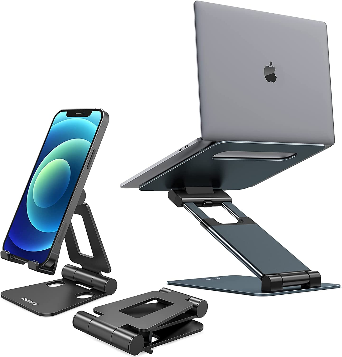 Nulaxy A4 Phone Stand & Nulaxy C5 Laptop Stand Bundle