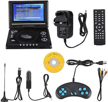 Huairdum Reproductor de DVD móvil, 7.8 Pulgadas Reproductor de DVD ...