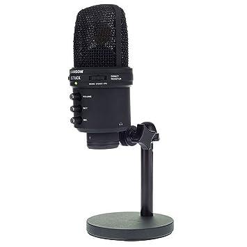 THOMANN GMBH - micrófono de estudio Samson G-track Black Edition: Amazon.es: Instrumentos musicales