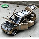 Torque Traders Ping Cool 1 / 24 for Land Rover Die-Cast Car Model Alloy Models Toy Car Acousto-Optic Open Warrior Toys Packed (Red)