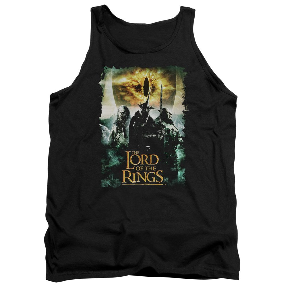 Lord Of The Rings Villain Group Adult Tank Top