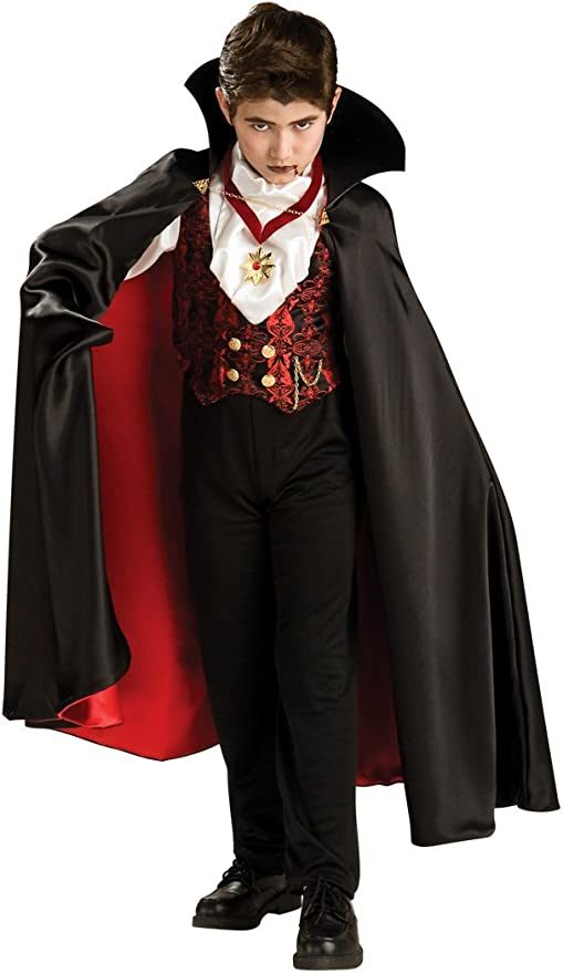 VAMPIRE TODDLER FANCY DRESS UP HALLOWEEN COSTUME PARTY AGE 3-4 REDUCED TO CLEAR