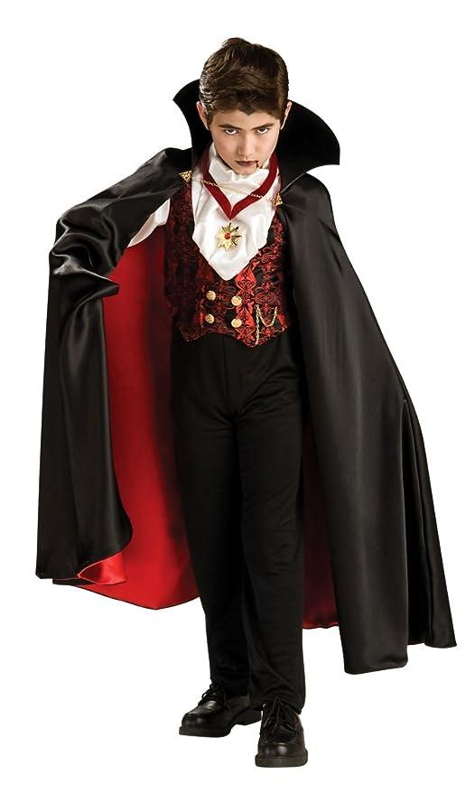 Rubie s Costume Carnevale Halloween Vampiro della Transilvania - Bambino 2fd2c1edc412