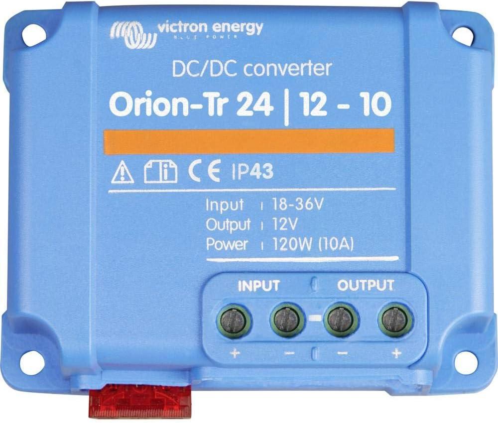 24-12V-10A Victron Energy ORI241210200R Orion-TR 24//12-10 120W DC Converter