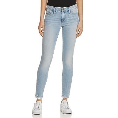 Frame Denim Womens De Jeanne Denim Released Hem Skinny Jeans at ...