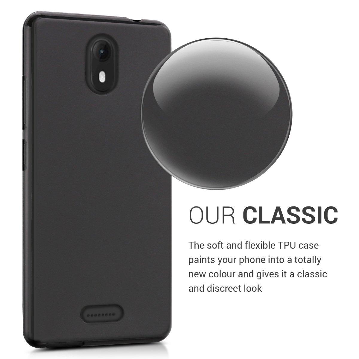 Amazon.com: kwmobile - Carcasa para Wiko View Go (silicona y ...