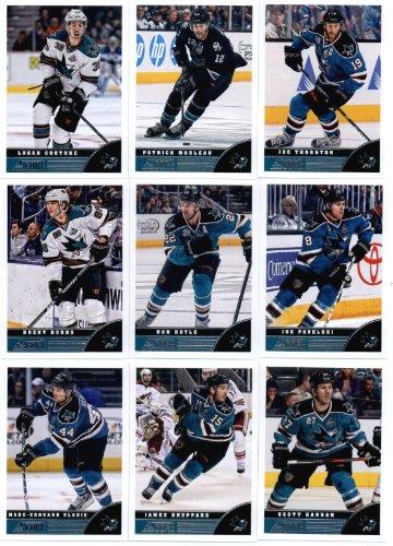 2013-14-score-hockey-cards-team-set-san-jose-sharks-20-cards-joe-thornton-patrick-marleau-logan-cout