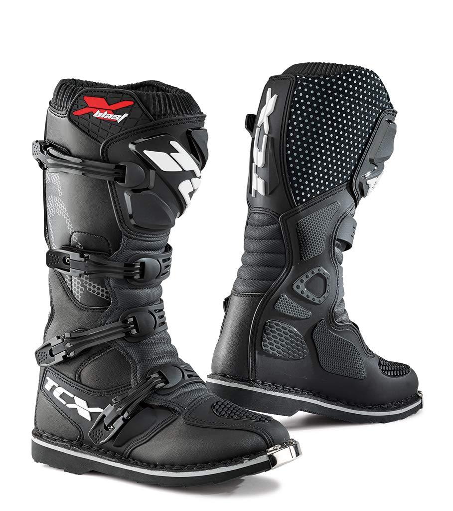 Royal Blue//Yellow, Size 43//Size 9 TCX Boots Mens X-Blast Boots