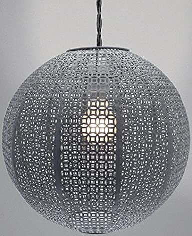 Moroccan style metal round ball ceiling light shade chandelier moroccan style metal round ball ceiling light shade chandelier fitting lampshade silver chrome amazon lighting mozeypictures Image collections