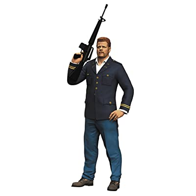 "McFarlane Toys The Walking Dead TV Abraham Ford 7"" Collectible Action Figure: Toys & Games"