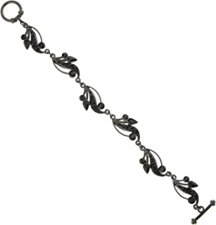 product image for 1928 Jewelry Black Label Vine Teardrop Bracelet