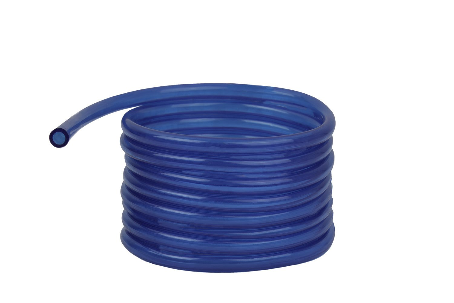 Raider Polyurethane Fuel Gas Line Tubing Hose Roll Blue (5 Ft. x 3/16 In.)