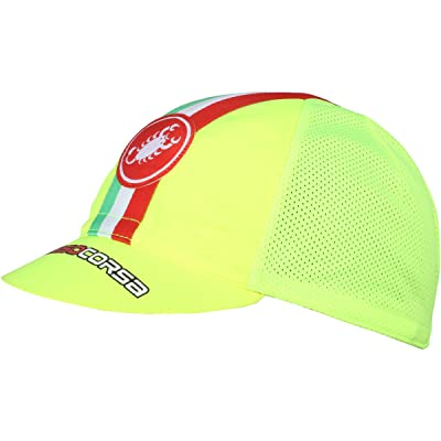 Castelli - Casquette Performance Cycling - Jaune Fluo