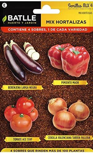 Huerto Urbano - Mix Huerta - HU - Batlle: Amazon.es: Jardín