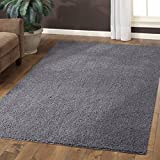 Cheap Maples Rugs Area Rugs, [Made in USA][Catriona] 7′ x 10′ Non Slip Padded Large Rug for Living Room, Bedroom, and Dining Room – Grey Funnel