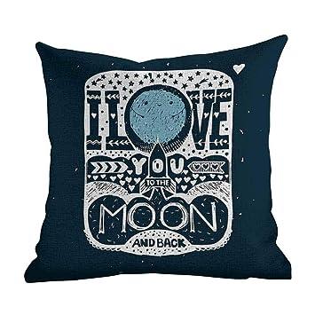 Amazon.com: Fundas de almohada para sofá con diseño de ...