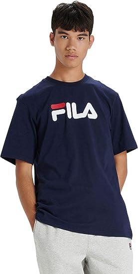 Fila de los Hombres Camiseta Eagle Logo, Azul: Amazon.es: Ropa y accesorios