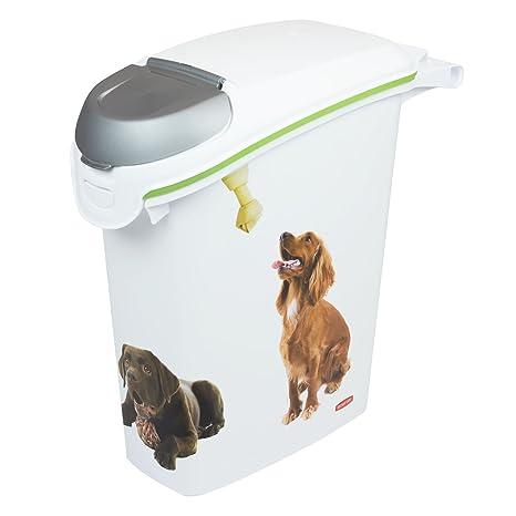 CURVER 10 KG (23 literes) contenedor alimentos motivo perro