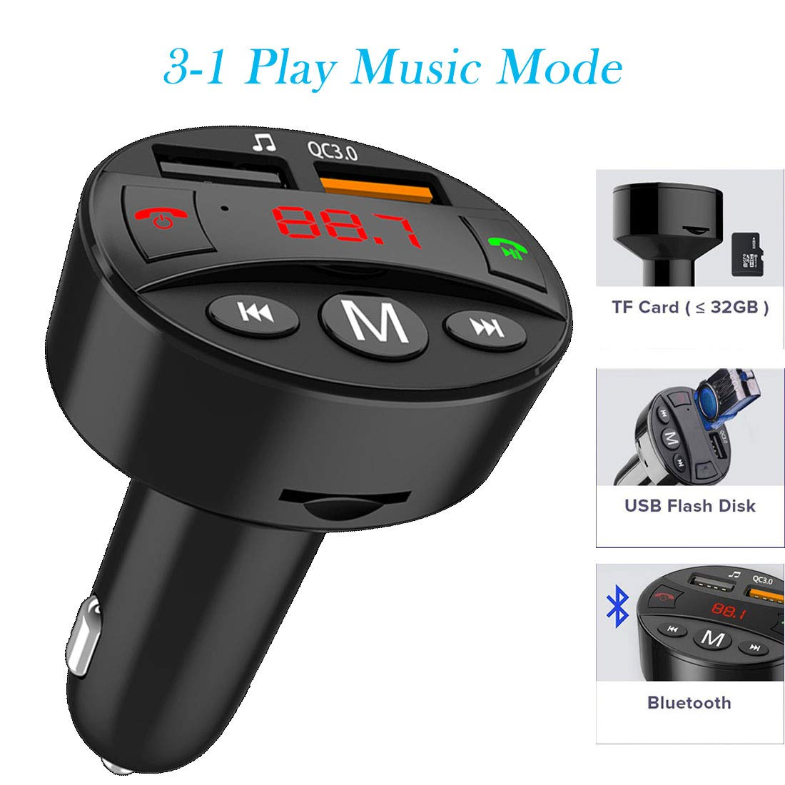 Memory Card Readers Electronics Color : Black Micro Sd/tf Inline ...