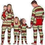 Hzjundasi Flapjacks Onesie Christmas Family Matching Pajamas - Adult Kids and Infant PJs Xmas Holiday Sleepwear One-Piece Nightwear
