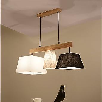 Elegante Stoff Pendelleuchten Lampenschirme Hängeleuchte Für