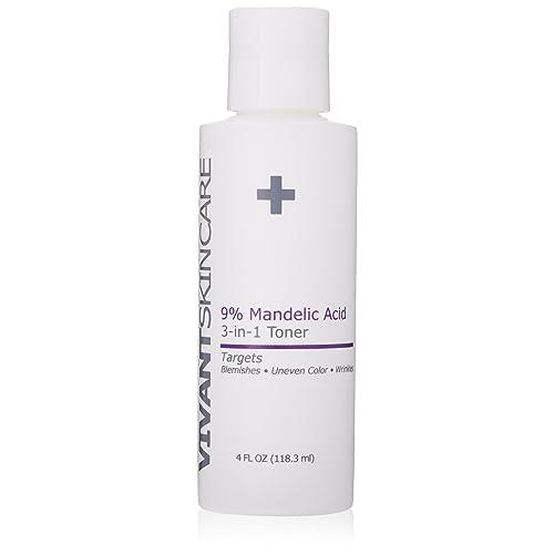 Amazon Com Vivant Skin Care 9 Mandelic Acid 3 In 1 Toner 4 Ounce