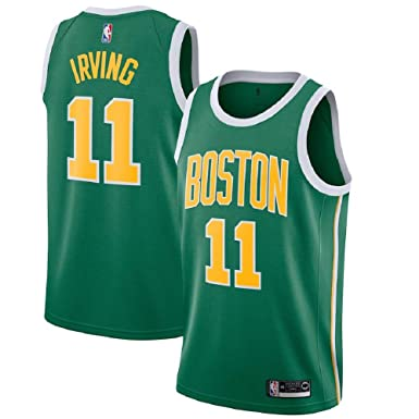 e7f63631e Majestic Athletic Kyrie Irving  11 Boston Celtics 2018-19 Swingman Men s  Jersey Green (