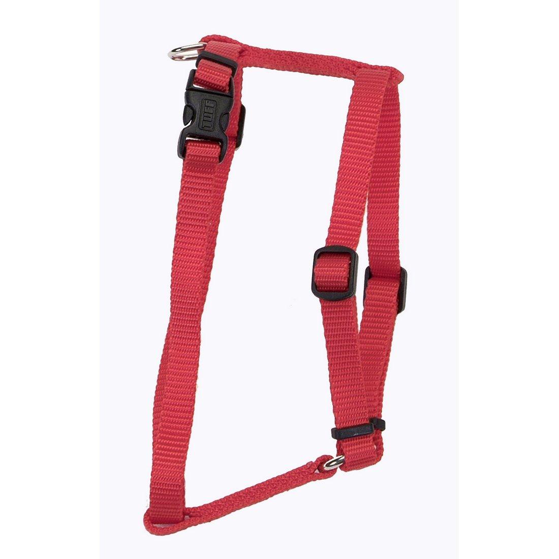 COASTAL Nylon Adjustable Harness Red Large 1  x 22 -38