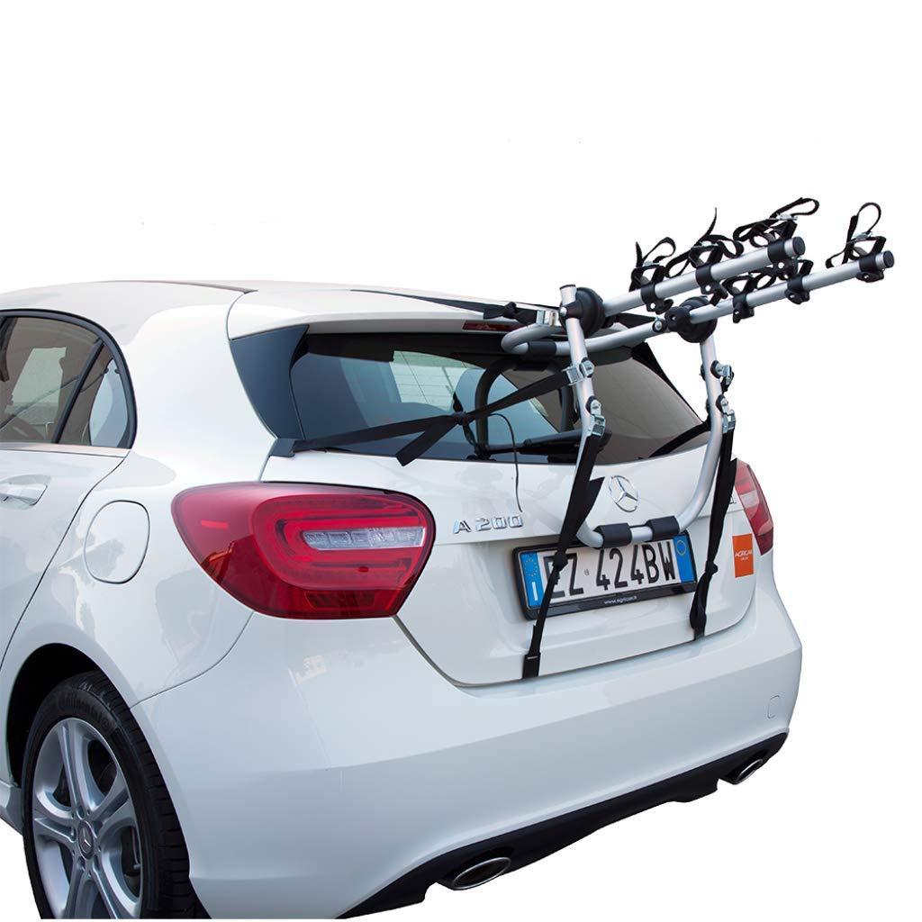 si.web PORTABICI PORTABICICLETTE Posteriore per Auto per Il Trasporto di 2 O 3 Biciclette