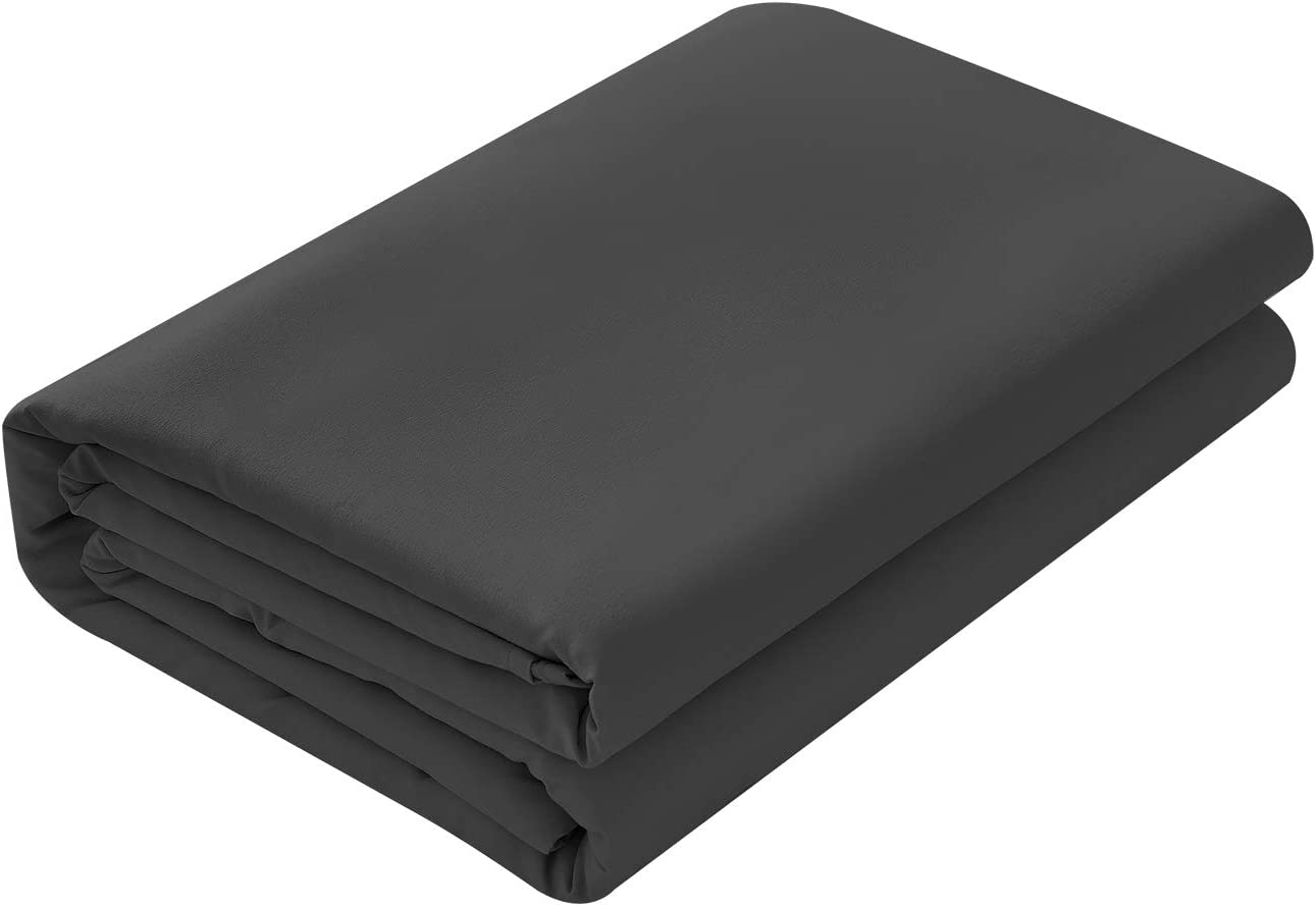 BASIC CHOICE Flat Sheet, Breathable, Extra Soft Microfiber 2000 Bedding Top Sheet - Wrinkle, Fade, Stain Resistant - Hypoallergenic - (Navy, Full): Home & Kitchen