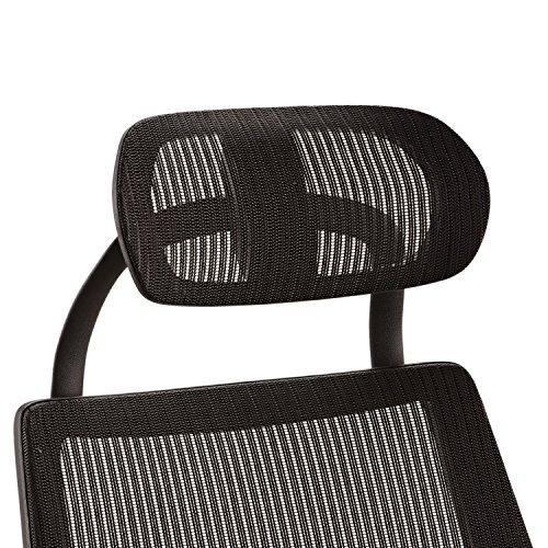 Alera ALEKEHR18 Headrest for K8 Chair, Mesh, Black by Alera (Image #4)