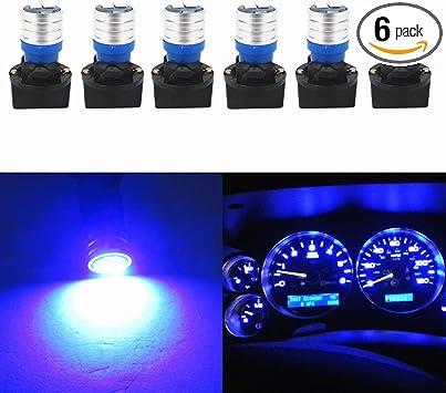 10^ T10 W5W 501 Wedge Interior Car Side Light Dashboard Dash Panel Gauge Bulbs