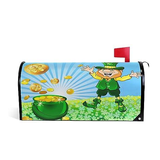 Wamika St.Patrick s Day Leprechaun Vector - Buzón para ...