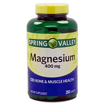 Spring Valley Magnesium 400 Mg 250 Tablets