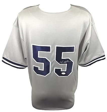 best sneakers 299f3 755c4 Hideki Matsui Signed New York Yankees Majestic Replica Gray ...