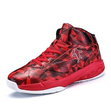 YSZDM Zapatos Hombre de Baloncesto, Transpirable y Ligera ...