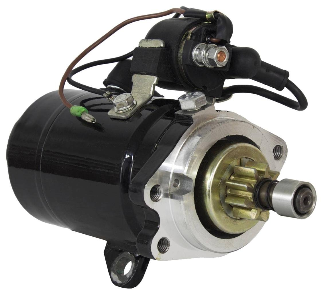 Rareelectrical NEW STARTER COMPATIBLE WITH YAMAHA MARINE OUTBOARD 1991-95 C55ELR 1993-95 C55TLR S114-221 3424